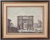 OKA Arch of Constantine South Face Framed Print