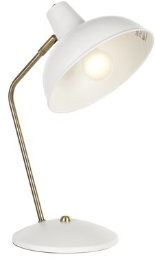 Navarette 15.5'' Desk Lamp Latitude Run Base Color/Finish: White