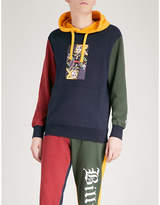 Billionaire Boys Club Omega-patch cotton-jersey hoody
