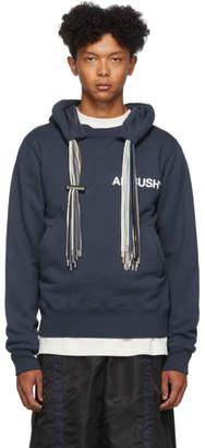 Ambush Blue Multi Cord Logo Hoodie