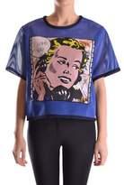 Leitmotiv Women's Blue Polyester Top.