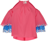 Peter Pilotto Layered Cutout Blouse