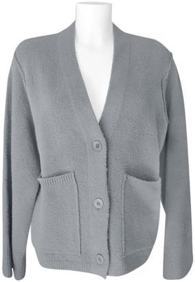 Narli - Soft Cardigan Made of 80% Bio Cotton - Grey - M | cotton | grey - Grey/Grey