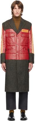 Junya Watanabe Red Pirelli Patch Coat