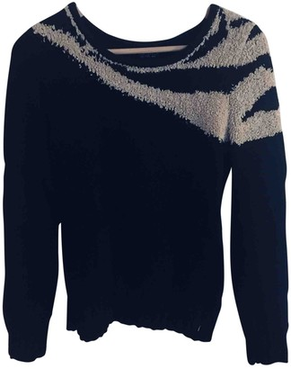 Topshop Tophop Black Cotton Knitwear for Women