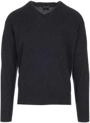 Tom Ford Long Sleeve V-Neck