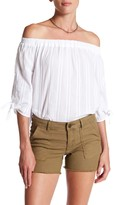 KUT from the Kloth Alma Off-The-Shoulder Blouse