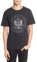 Obey Men's Oil Eagle Graphic T-Shirt