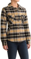 Kavu Lowlands Lined Flannel Shirt Jacket (For Women)