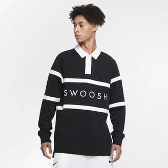 Nike Men's Rugby Shirt Sportswear Swoosh