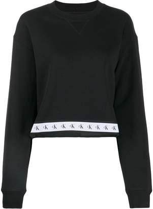 Calvin Klein Jeans logo stripe sweater