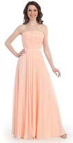 Cindy Preorder - Blush Strapless Empire Waist Floor Length Dress 2015 Prom Dresses