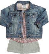 Organic Cotton Jacket, Top & Skirt