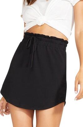 BB Dakota It's Casual Jersey Miniskirt