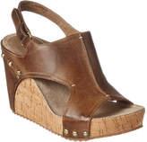 Antelope 724 Leather Wedge Sandal