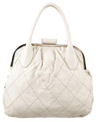 Chanel Expandable Frame Stitch Bag