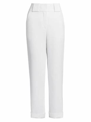 Giorgio Armani Crepe Flat Front Trousers