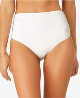 Anne Cole Live In Color High-Waist Bikini Bottoms, Created for Macy's Women's Swimsuit