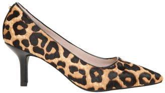 Basque Elizabeth2 Leopard Heeled Shoe