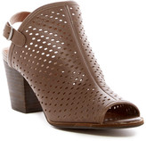 Lucky Brand Hatoraa Perforated Slingback Bootie