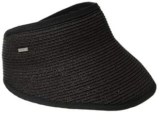 San Diego Hat Company UBV043 Sport Visor with A Stretch Band Closure (Black) Casual Visor