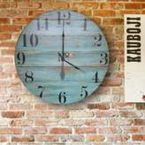 Rosecliff Heights Oversized Quinlynn Farmhouse Wall Clock