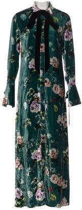 Olivia von Halle Multicolour Velvet Dress for Women