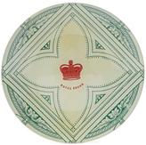 John Derian Royal Crown Round Plate