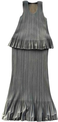 Pleats Please Grey Polyester Skirts