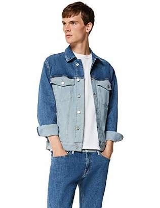 Tommy Jeans Men's TJM Oversized Trucker Jacket,Medium