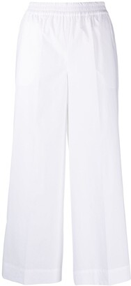 P.A.R.O.S.H. Canyon cropped cotton trousers