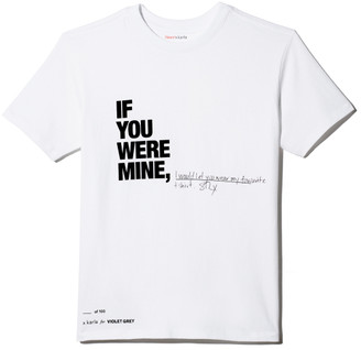 """X Karla For Violet Grey The """"If You Were Mine"""" Crew Customized"""