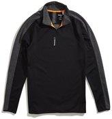 Reebok Workout Ready Two-Tone Quarter Zip Sweatshirt