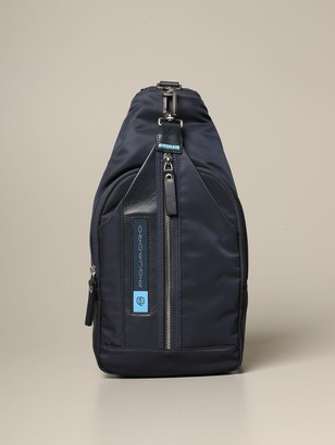 Piquadro Pq-bios One-shoulder Backpack In Recycled Fabric