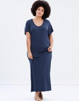 Harlow Love Is A Stranger Ruched Maxi
