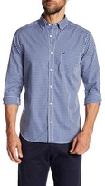 Nautica Check Wrinkle Resistant Woven Shirt
