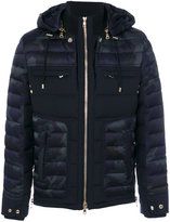 Balmain padded camouflage jacket - men - Cotton/Rayon/Wool/Polyester - XL