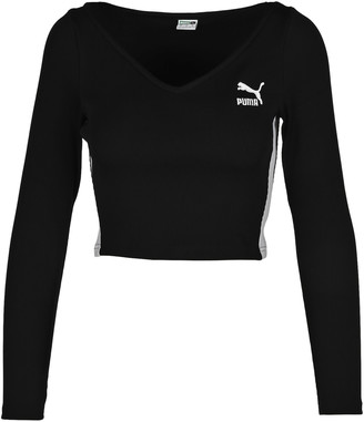 Puma Embroidered Logo Top