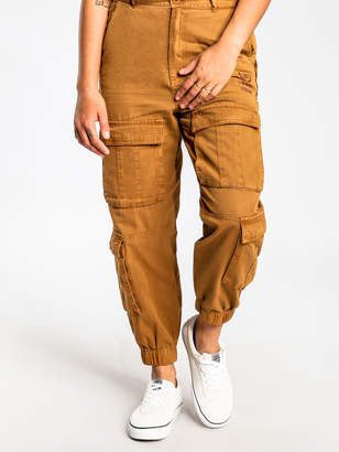 Stussy Hunt Slim-Fit Cargo Pants in Tan