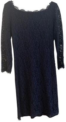 Diane von Furstenberg Navy Lace Dresses