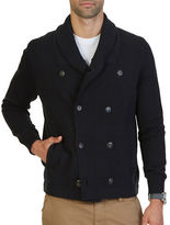 Nautica Cotton Double-Breasted Jacket