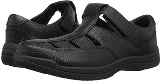 Propet Bayport (Black Leather) Men's Shoes