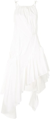 Marques Almeida Ruched Tier Dress