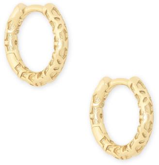 Kendra Scott Maggie Huggie Earrings in Filigree