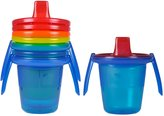 The First Years Take and Toss 7-Ounce Spill-Proof Trainer Sippy Cups with Removable Handles