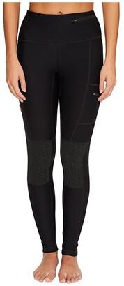 Fjallraven Abisko Trek Tights (Dark Grey) Women's Casual Pants