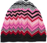 Missoni patterned knit beanie