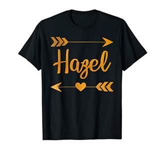 IDEA HAZEL Personalized Name Funny Birthday Custom Mom Gift T-Shirt