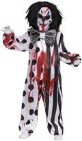 Fun World Costumes Bleeding Killer Clown Costume for Kids