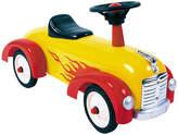 Yellow Hot Rod Speedster Ride-On